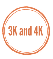 4k to 5k